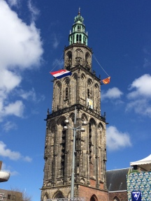 The Martini Toren from the ground.