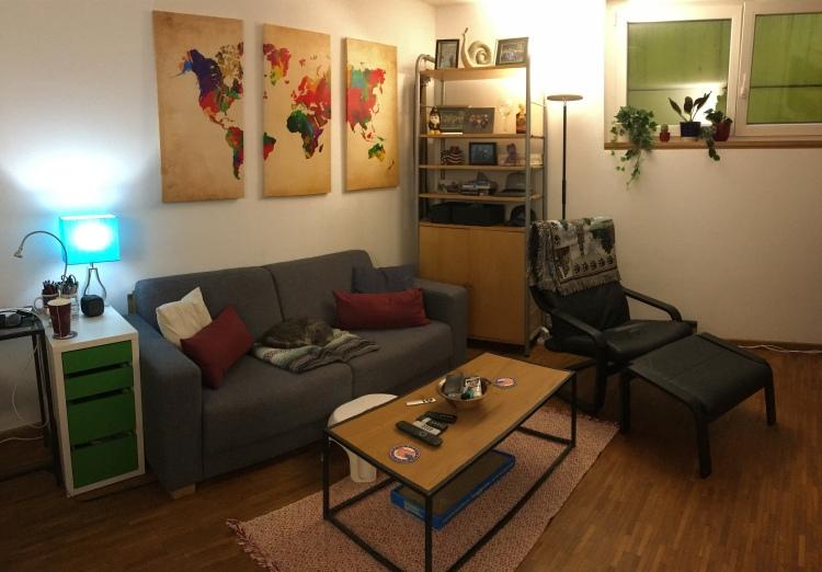 Living room upgrade.